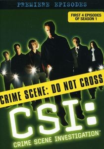 CSI: The Premiere Episodes (Season One, Episodes 1-4)