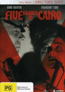 Five Graves to Cairo (Pal/ Region 4)