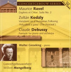 Debussy: Fantasie for Pno & Orch