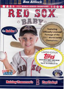 Red Sox Baby & David Ortiz Topps Baby Card