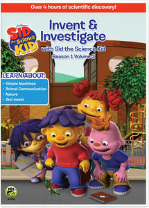 Sid the Science Kid: Invent & Investigate V.3