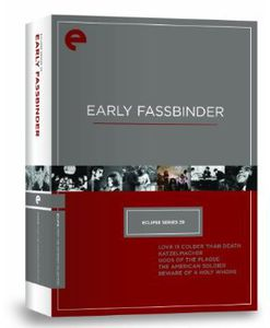 Early Fassbinder (Eclipse Series 39)