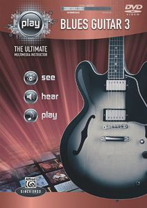 Alfred's Play Series Blues Guitar 3