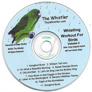 Whistler's Whistling Workout for Birds 2