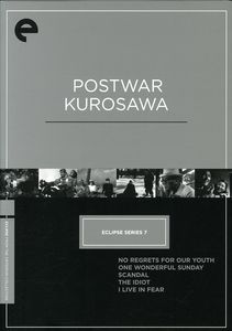 Postwar Kurosawa (Eclipse Series 7)