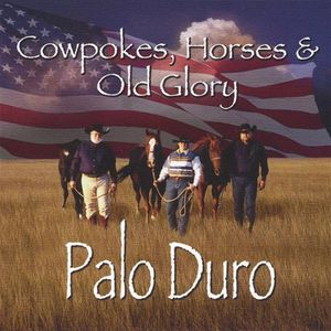 Cowpokes Horses & Old Glory
