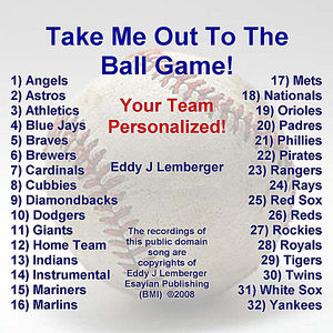 Take Me Out To The Ball Game: Your Team Personalized