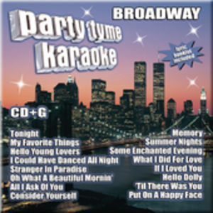 Party Tyme Karaoke: Broadway /  Various