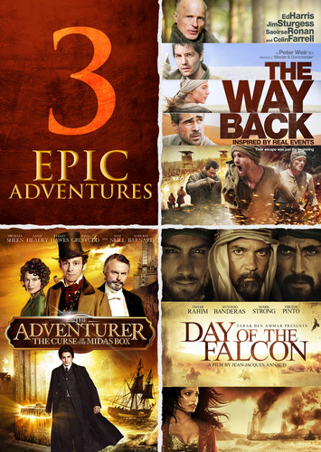 Adventurer /  Day of the Falcon /  the Way Back