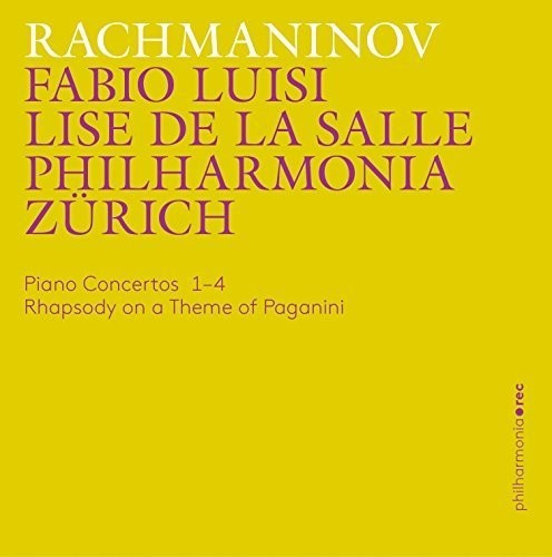 Piano Concertos 1-4 - Rhapsody on a Theme of