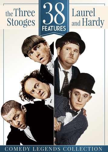 38 Features: The Three Stooges & Laurel & Hardy