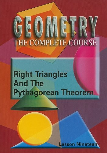 Right Triangles & the Pythagorean Theorem