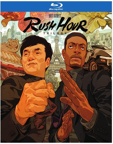 Rush Hour Trilogy on Blu-ray