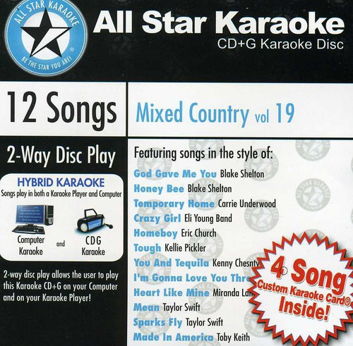 Karaoke: Mixed Country /  Various