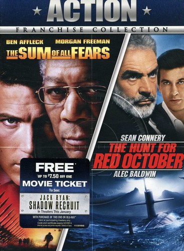 Hunt for Red October/ The Sum of All Fears