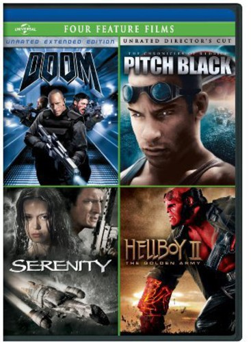 Doom /  Pitch Black /  Serenity /  Hellboy II: Golden