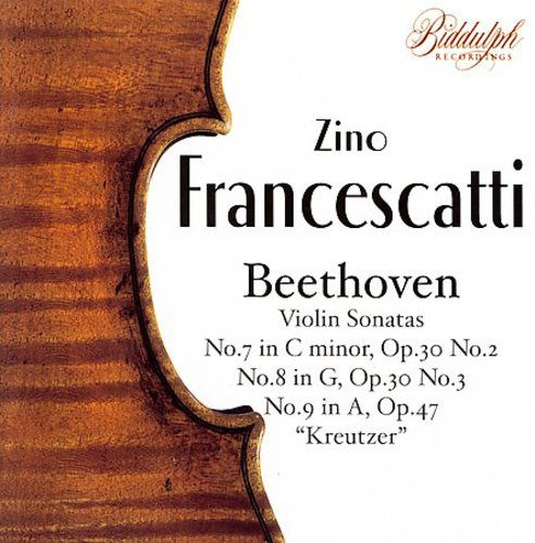 Zino Francescatti Plays Beethoven Sonatas