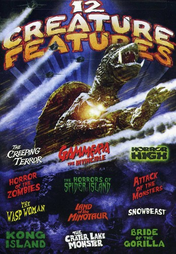 Monster Movie Pack: 12 Creature Features