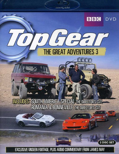 Top Gear - Great Adventures 3 [Import]