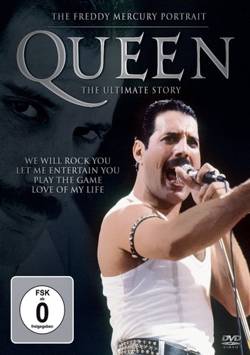 Ultimate Story: Freddie Mercury Portrait