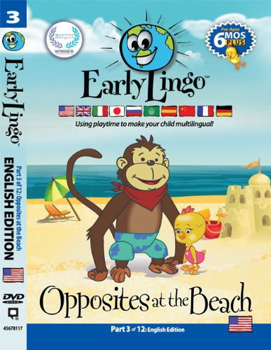 Early Lingo Opposites at the Beach Part 3 [Import]