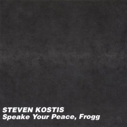 Speake Your Peace Frogg