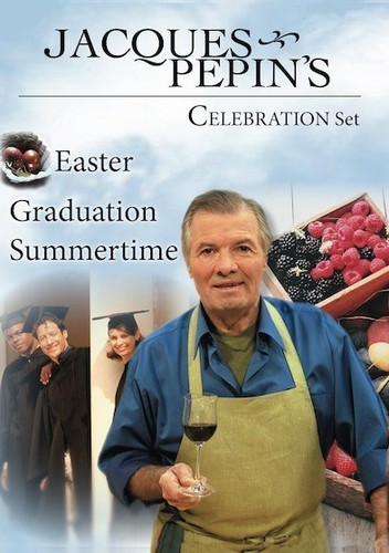 Jacques Pepin's Spring: Summer Celebrations Set