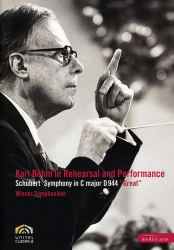 Karl Bohm Is Rehearsal & Performance 3: Sym in C