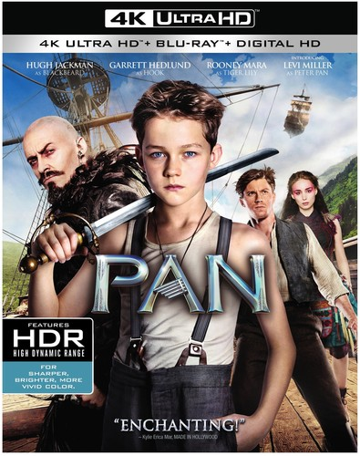 Pan  [4K Ultra HD + Blu-ray + Digital HD]
