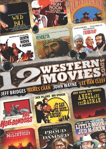 12 Western Movie Collection
