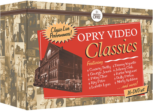 Opry Video Classics (16 DVD Set)