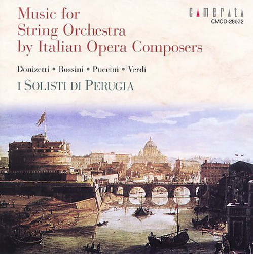 Music for String Orchestra By Italian Opera