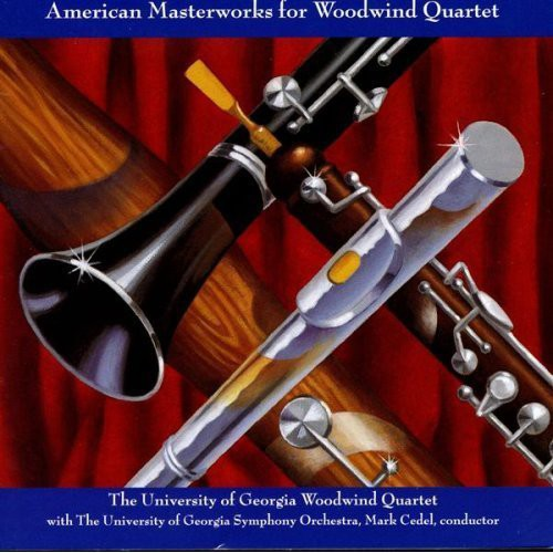 American Masterworks for Woodwind Quartet /  Various
