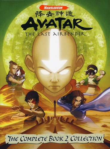 Avatar The Last Air Bender Complete Book 2 Collection