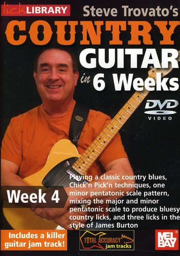 Trovato, Steve Country Guitar in 6 Weeks: Week 4