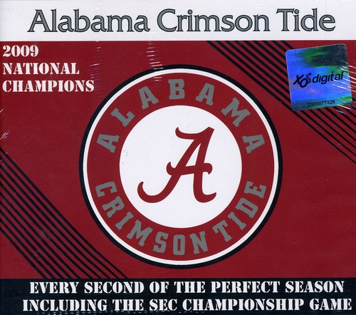 Alabama Crimson Tide Perfect Season Championship