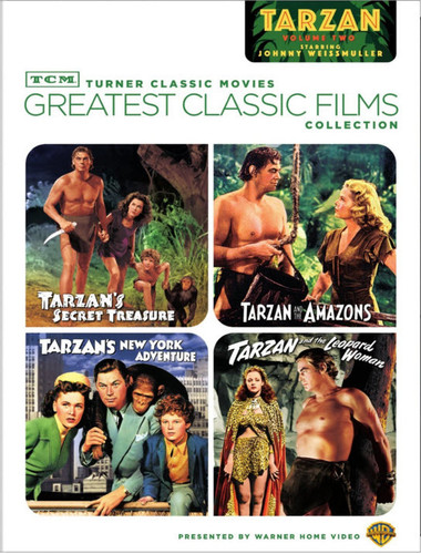 TCM Greatest Classic Films Collection: Johnny Weissmuller as Tarzan Volume Two