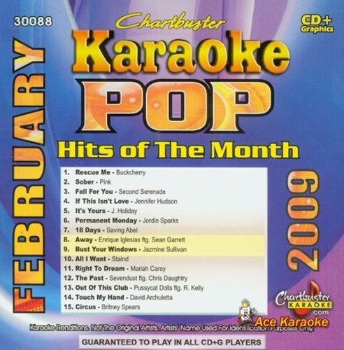 Karaoke: Pop Hits of the Month: February 2009/ Va