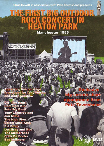 First Big Outdoor Rock Concert in Heaton