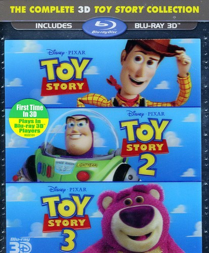 Toy Story 3D Trilogy (3D)