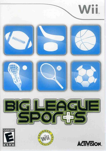 Big League Sports for Nintendo Wii