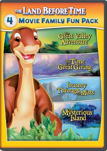 Land Before Time II-V 4-Movie Family Fun Pack