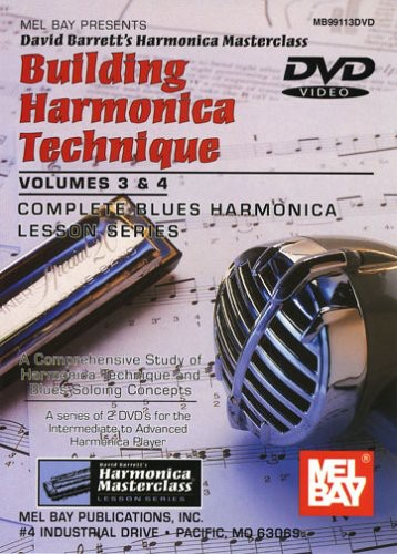 Building Harmonica Technique 3 & 4