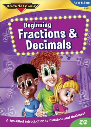 Rock N Learn: Beginning Fractions & Decimals