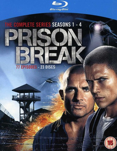 Prison Break: The Complete Series (Seasons 1-4)