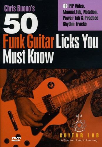 50 Funk Licks You Must Know