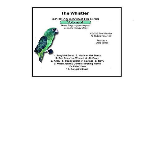 Whistler's Whistling Workout for Birds 4