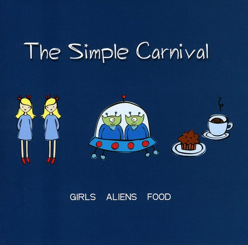 Girls Aliens Food