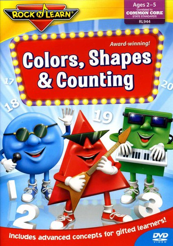 Rock N Learn: Colors Shapes & Counting