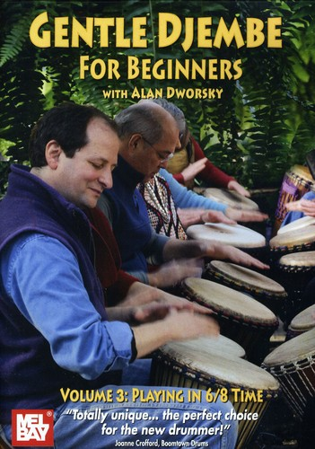 Gentle Djembe for Beginners 3 Playing in 6/ 8 Time